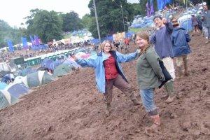 Mud, tents, mates.