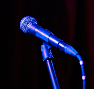 Microphone - copyright Brian Crotaz