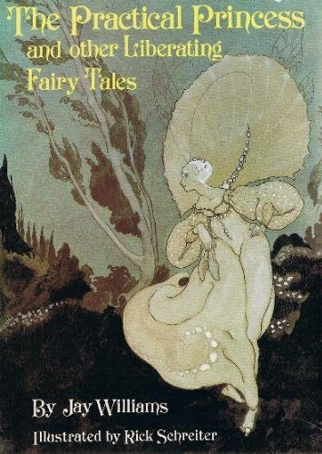 Cover art for The Practical Princess. A woman in a white floaty dress with pale skin and almost white hair runs through a forest. Image shared under Fair Use Guidelines.