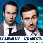 Max and Ivan Con Artists Edinburgh Fringe Show