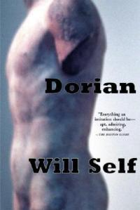 Book cover: picture of Dorian Grey - a painting of a male, nude torso