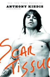 book cover Scar Tissue by Anthony Kiedis