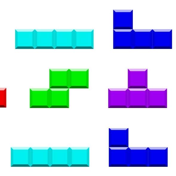 Tetronimoes - Tetris pieces
